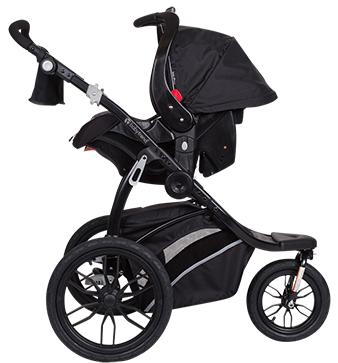 Baby Trend Bolt Performance Travel System In Asphalt Black