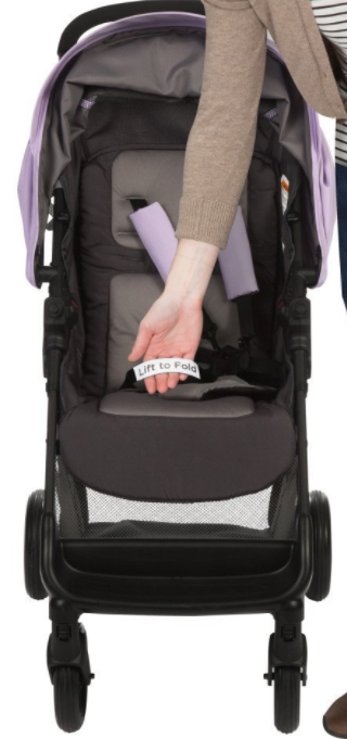 Safety First Smooth Ride Travel System Stroller Fold Stroller With
