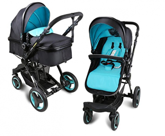 Baby Stroller Travel System Folding Pram Pushchair Reviews